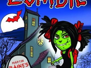Zena the Zombie – Colouring Story Book
